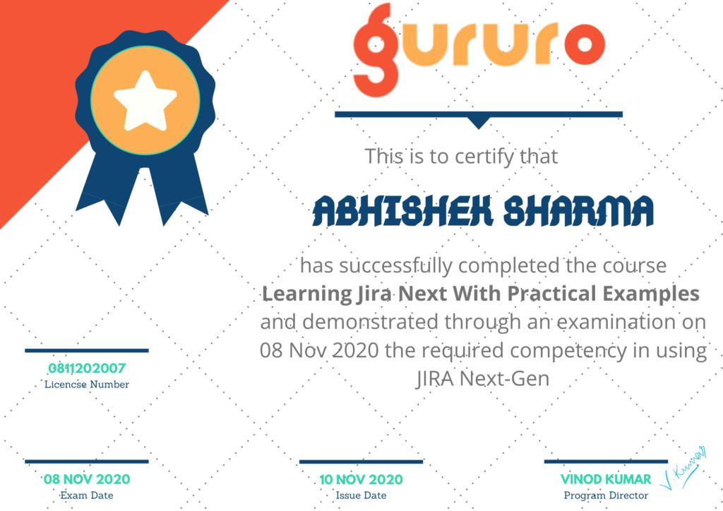 hira nextgen certificate