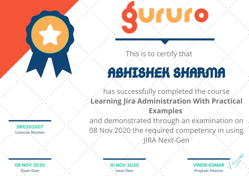 jira admin certificate