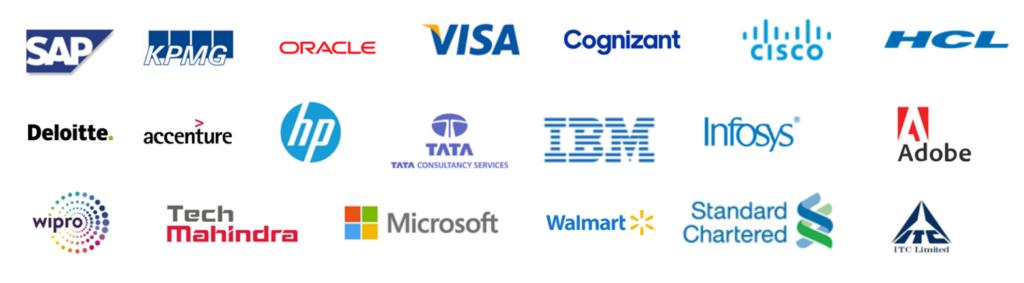 multiple companies logo