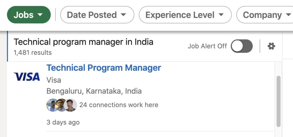 Technical Program Management jobs on LinkedIn