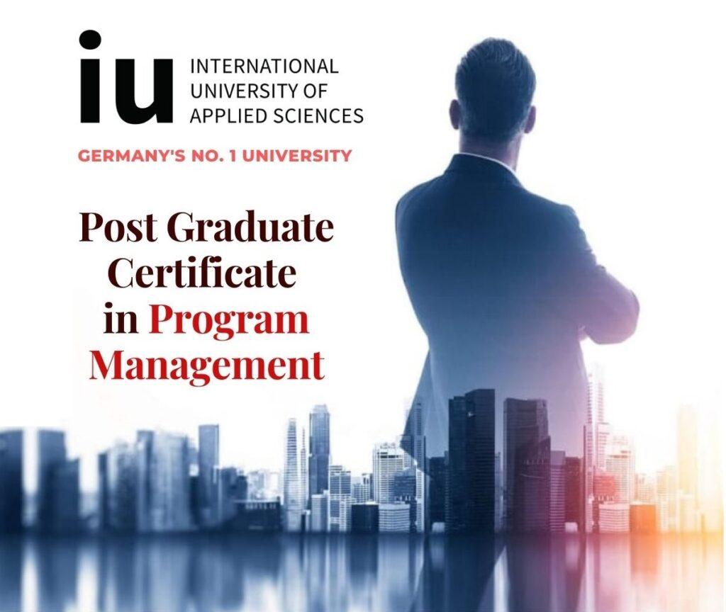 IU certificate in Program Management